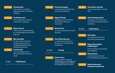 Programa del Inbound Marketing Day BCN celebrado el 27 de Oct de 2015 en ESADE Creapolis Sant Cugat, Barcelona. #IMDBCN2015 #inboundmarketing #marketing #marketingdigital #socialmedia #socialdigitalmarketing #communitymanager #redessociales #enredia