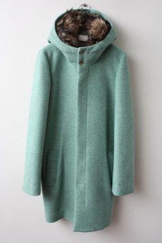 ohta melton coat - this looks cosy.