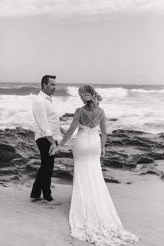 Klaasje & Willie Beach Wedding Portraits by Maria Marguerite Photography Wedding Portraits, Weddings, Wedding Dresses, Beach, Photography, Collection, Fashion, Bride Dresses, Moda