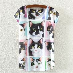 Awesome Casual Animal Print T-Shirts Perfect for Summer