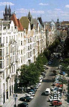 Prague - Parizska street