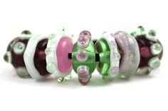 Designer Lampwork Beads by Beadscrumptious www.beadscrumptious.co.uk #lampworkbeads