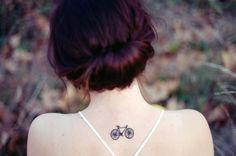 little bike tattoo