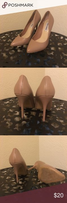 Nude Steve Madden Pumps Nude Steve Madden Pumps with no box Steve Madden Shoes Heels