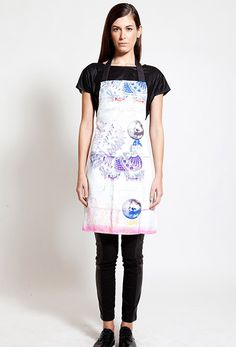 Cook with style with the apron designed by Greek Labe Postfolk Apron Designs, Home Accessories, Shirt Dress, Stylish, Shirts, Collection, Color, Aprons, Exhibit