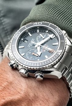 Omega Planet Ocean. Visit the watch salon in London Jewelers Americana Manhasset or call 516 627 5164 to speak to a store representative.