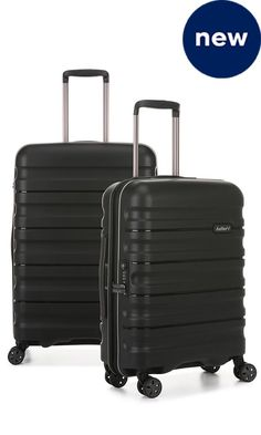 Juno II 2 Piece Suitcase Set Medium and Cabin | Hard Suitcase | Antler UK