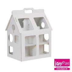 Spielhaus small - Spielhäuser - White Line - Produkt-Kategorien - Joypac - Kreatives aus Wellpappe und Karton - Bastelspaß