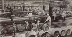 Going back in time - filling the casks on the Guinness production lines