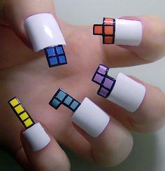 Ongles Tetris