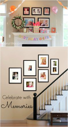 Awesome way to celebrate your family birthdays. Love this adorable tradition!!