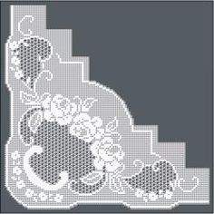 Filet Crochet Designs » Filet Crochet Pattern / Ref. No RTR