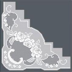 Filet Crochet Designs » Filet Crochet Pattern / Ref. No RTR