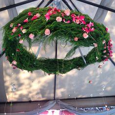 #floralchandelier #alcachofaservices #erikazavaladesign #flowers #design