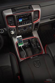 2016 Ram 1500 Rebel Crew Cab 4x4 interior // www.newcreations.com