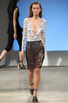 Thakoon Spring 2016 Ready-to-Wear Fashion Show - Mathilde Brandi