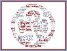 1st Blagdon Rainbow Guides #ThanksAMillion #fundraising #giving #charity #girlguides
