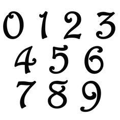 8 Single Metal Number Indoor/Outdoor Door Number by EvyAnnDesigns