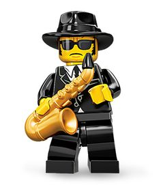 Lego Series 11 - Saxaphone Player