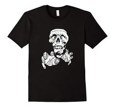 Amazon.com: Scary Halloween Zombie T-Shirt for Boys, Girls and Adults: Clothing