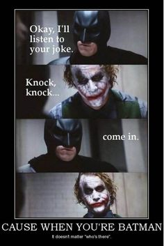 When You Are Batman... - funny pictures - funny photos - funny images - funny pics - funny quotes - #lol #humor #funny