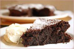 Esta torta de chocolate SÍ puedes comerla ¡Prepárala y no te salgas de la dieta!
