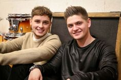 """DOUBLE-ACT Joe Woolford and Jake Shakeshaft will be competing this Friday to represent the United Kingdom at the Eurovision Song Contest, and have agreed that there are """"advantages"""" to having previously shot to fame on The Voice UK. The Voice 2016, U Turn, Image Caption, Tv On The Radio, Bbc News, New Image, Acting, Kicks, Politics"""