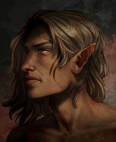 """Zevran. """"Warden's Death"""" by shutterbones"""
