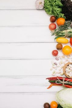 Vegetarian diet An eater diet isn't to eat meat or to eat solely eater sources, like cereals, fruits, vegetables, and nuts. Food Background Wallpapers, Food Wallpaper, Food Backgrounds, Flower Backgrounds, Food Menu Design, Food Poster Design, Food Template, Templates, Menu Cards