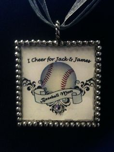 Baseball Mom Pendant with Necklace Personalized by HipHappies Softball Tshirts, Softball Crafts, Baseball Mom Shirts, Softball Mom, Baseball Stuff, Soccer Moms, Sports Mom, Sports Baseball, Baseball 2016