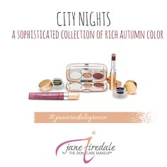 #janeiredale #janeireadalegreece #citynights #autumn2014 Ale, Greece, Skin Care, Autumn, Night, City, Makeup, Collection, Greece Country