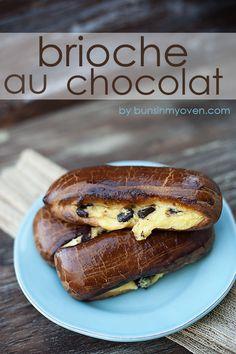 brioche au chocolat recipe by bunsinmyoven.com