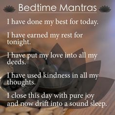 Bedtime Mantras to Beat Insomnia | Yoga Direct