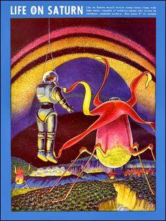 Como a década de 40 pensava que era a vida no sistema solar ~ Ovelhas Voadoras