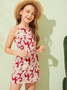 Girl's Dresses, Shop Dresses for Older Girls Online Cute Girl Outfits, Girly Outfits, Cute Dresses, Casual Dresses, Dresses With Sleeves, Kids Summer Dresses, Girls Dresses Online, Feminine Dress, How To Roll Sleeves