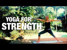 Yoga for Strength Yoga Class - Five Parks Yoga - YouTube