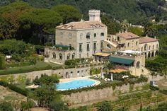 Villa Cimbrone, Amalfi Coast: Villa Cimbrone, Ravello, is a charming and extensive complex whose architecture and interior design is stylish and tasteful.