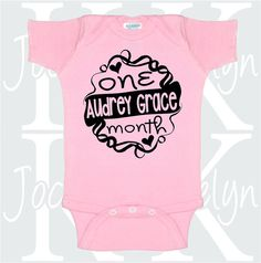 0bdae13e4 One Month Old, 1 Month, Cute Onesies, Old Shirts, One Piece Suit, Baby  Shower Gifts, My Etsy Shop, Baby Shower Ideas, Old Tee Shirts