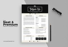 Free Printable Resume Templates Elegant 13 Shop Illustrator & Indesign Resume Te … – Resume and Cover Letter Samples and Templates - CV Examples Free Printable Resume Templates, Indesign Resume Template, Nursing Resume Template, Resume Template Examples, Simple Resume Template, Student Resume Template, Resume Design Template, Creative Resume Templates, Templates Free