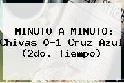 http://tecnoautos.com/wp-content/uploads/imagenes/tendencias/thumbs/minuto-a-minuto-chivas-01-cruz-azul-2do-tiempo.jpg Chivas vs Cruz Azul. MINUTO A MINUTO: Chivas 0-1 Cruz Azul (2do. tiempo), Enlaces, Imágenes, Videos y Tweets - http://tecnoautos.com/actualidad/chivas-vs-cruz-azul-minuto-a-minuto-chivas-01-cruz-azul-2do-tiempo/