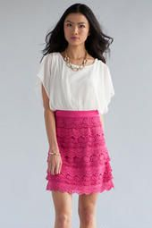 Julienne Crochet Dress