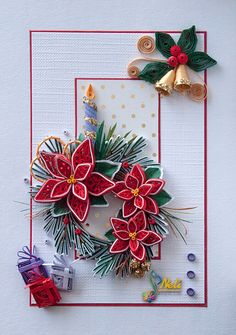 Neli Quilling Art: Preparation for Christmas _ # 8