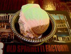 The Old Spaghetti Factory Spumoni Ice Cream.