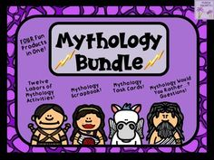 ~NOTE:  Items can by purchased separately for $13.25.  If you have already purchased the items individually, you will not need this bundled product.  *The Greek Mythology Scrapbook/Trading Cards/Posters Activity can also be purchased as part of the Scrapbook Bundle.