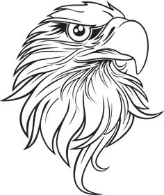 eagle head clip art – Item 3 | Vector Magz | Free Download Vector ...
