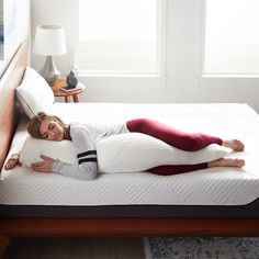 The Lucid Memory Foam Body Pillow is for everyone! This pillow is perfect for side, back and pregnant sleepers. Memory Foam, Body Cushion, Zipper Bedding, Side Sleeper Pillow, Foam Pillows, Body Pillow Covers, Pillow Reviews, Best Pillow, Pillow Sale