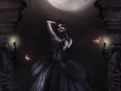 Gothic Midnight wallpaper from Gothic wallpapers