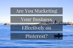 Are You Marketing Your Business Effectively on Pinterest? http://rite.ly/jdyb