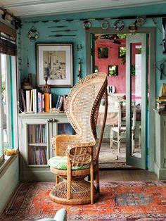 cadeira pavão