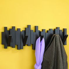 Sticks Molded Wall Hook In Espresso